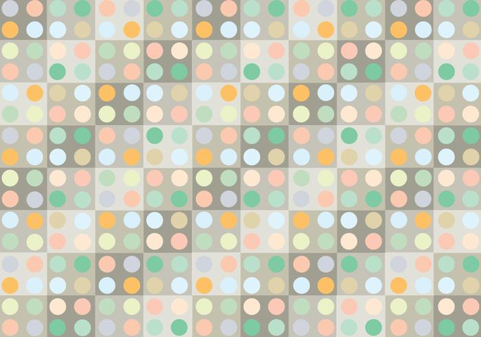 Pastel Dot Pattern Background Vector