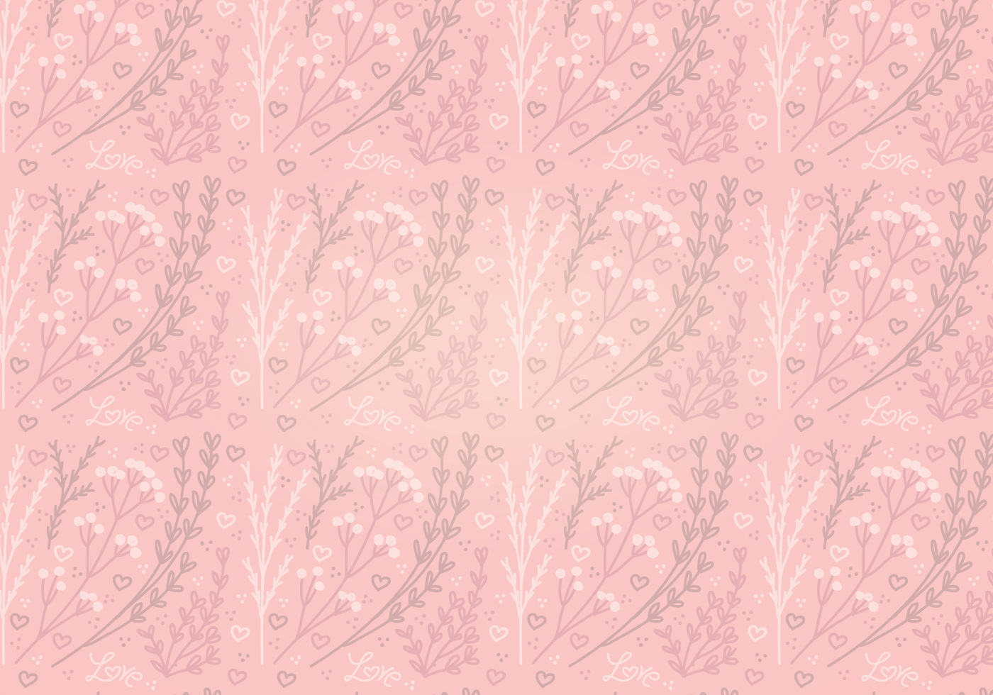 Seamless pink floral pattern - photo#36