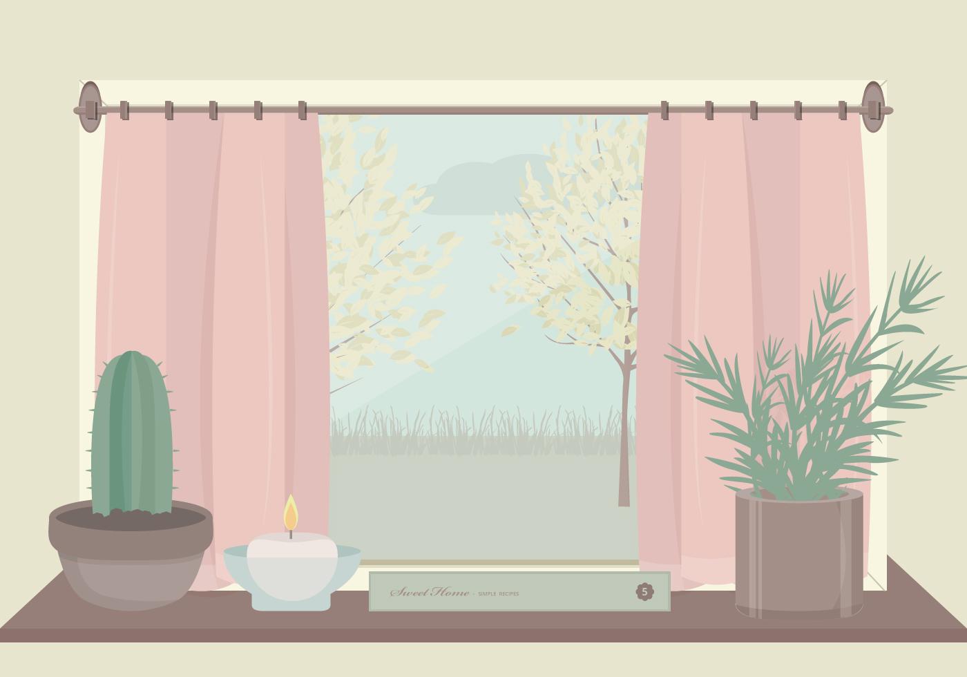 Balcony Door Curtains