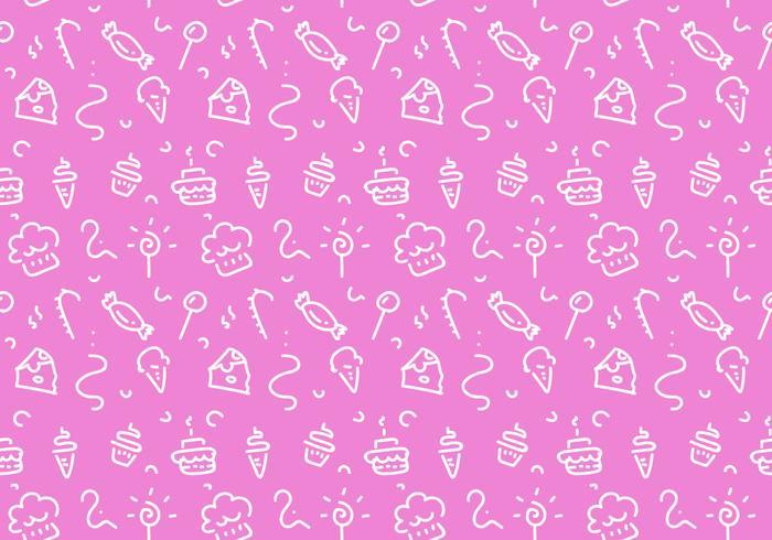 Free Dessert Patterns Vector