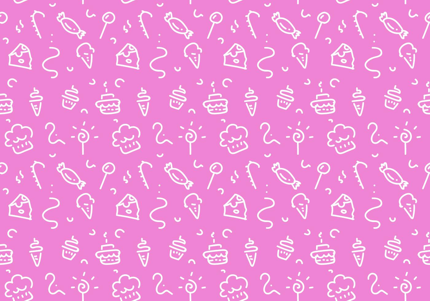 Free Dessert Patterns Vector Download Free Vector Art