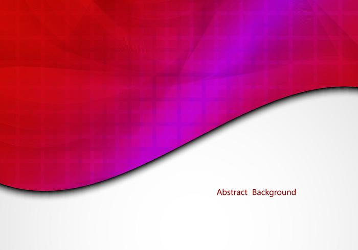 Free Red Colorful Vector Background