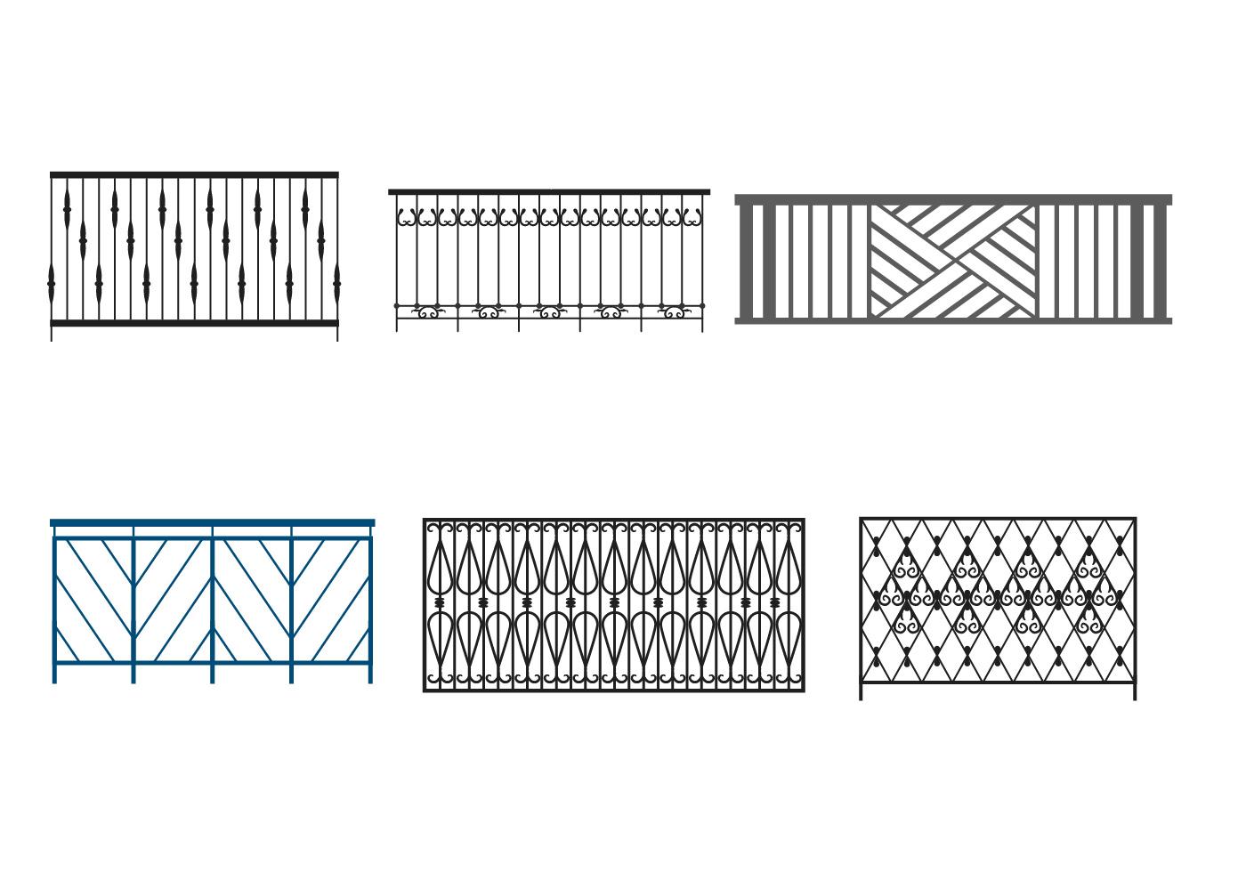 Steel Balcony Rails Download Free Vector Art Stock