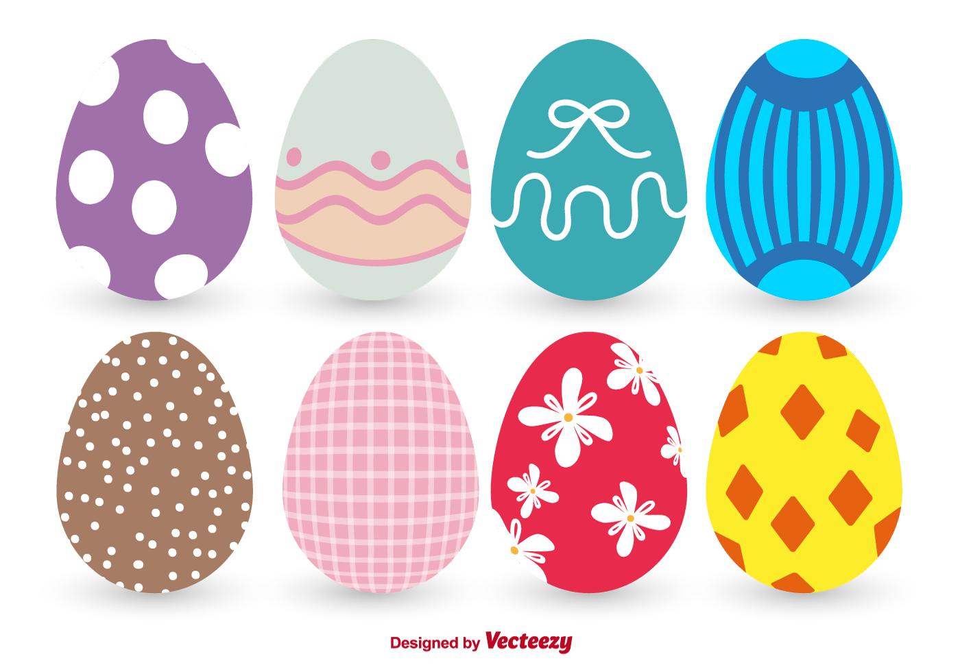 Colorful Easter Egg Vectors - Download Free Vector Art ...