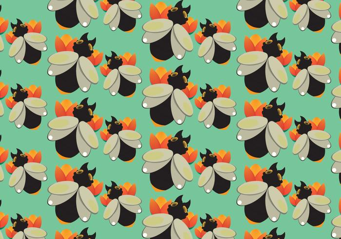 Free Black Termite Pattern Vector