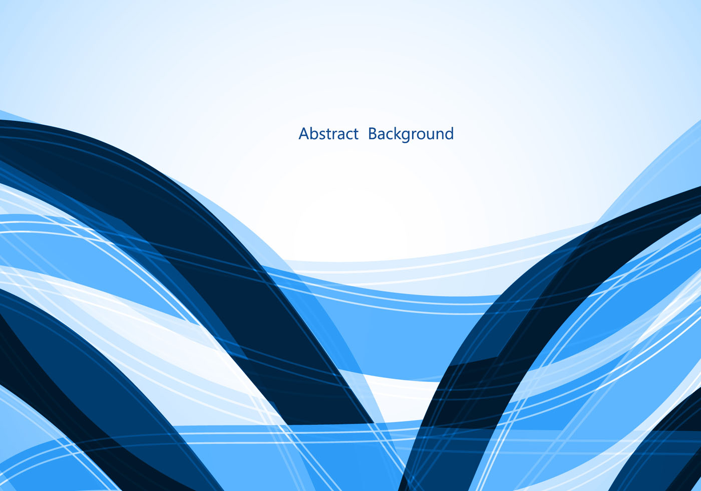 Free Blue Wave Vector Background Download Free Vector