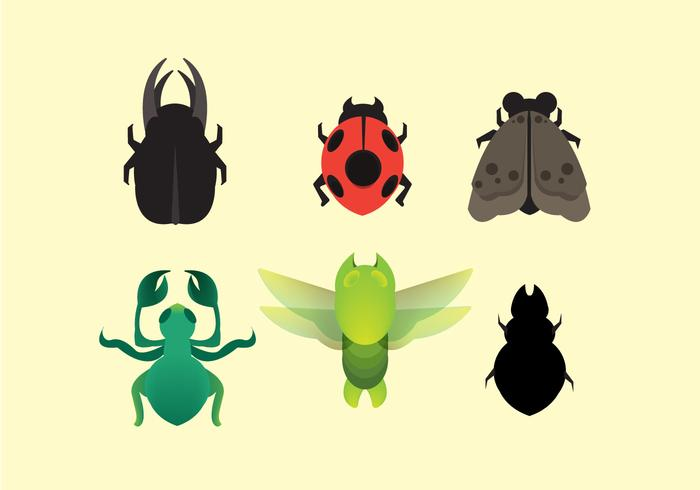 Free Termite and Insect Icon Vector