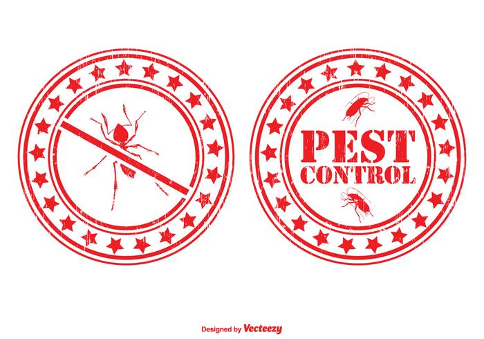 Pest Control Stamp Set