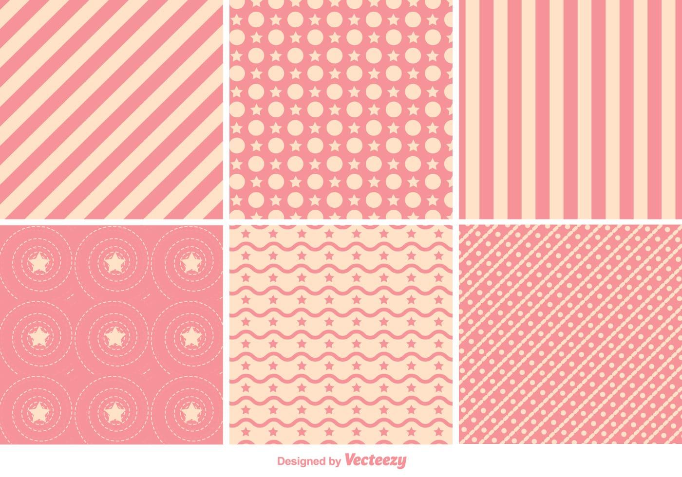Geometric Pink Pattern Vectors Download Free Vector Art