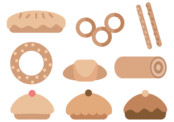 Pastries Vector