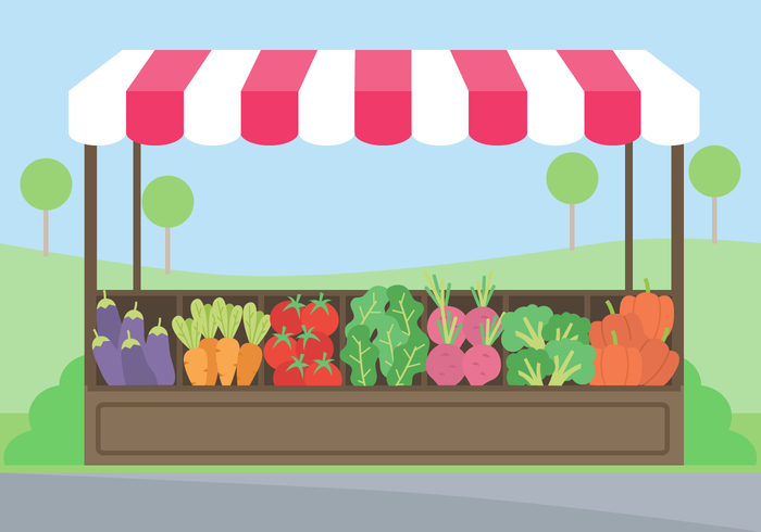 Free Vegetables Market Vector Download Free Vector Art