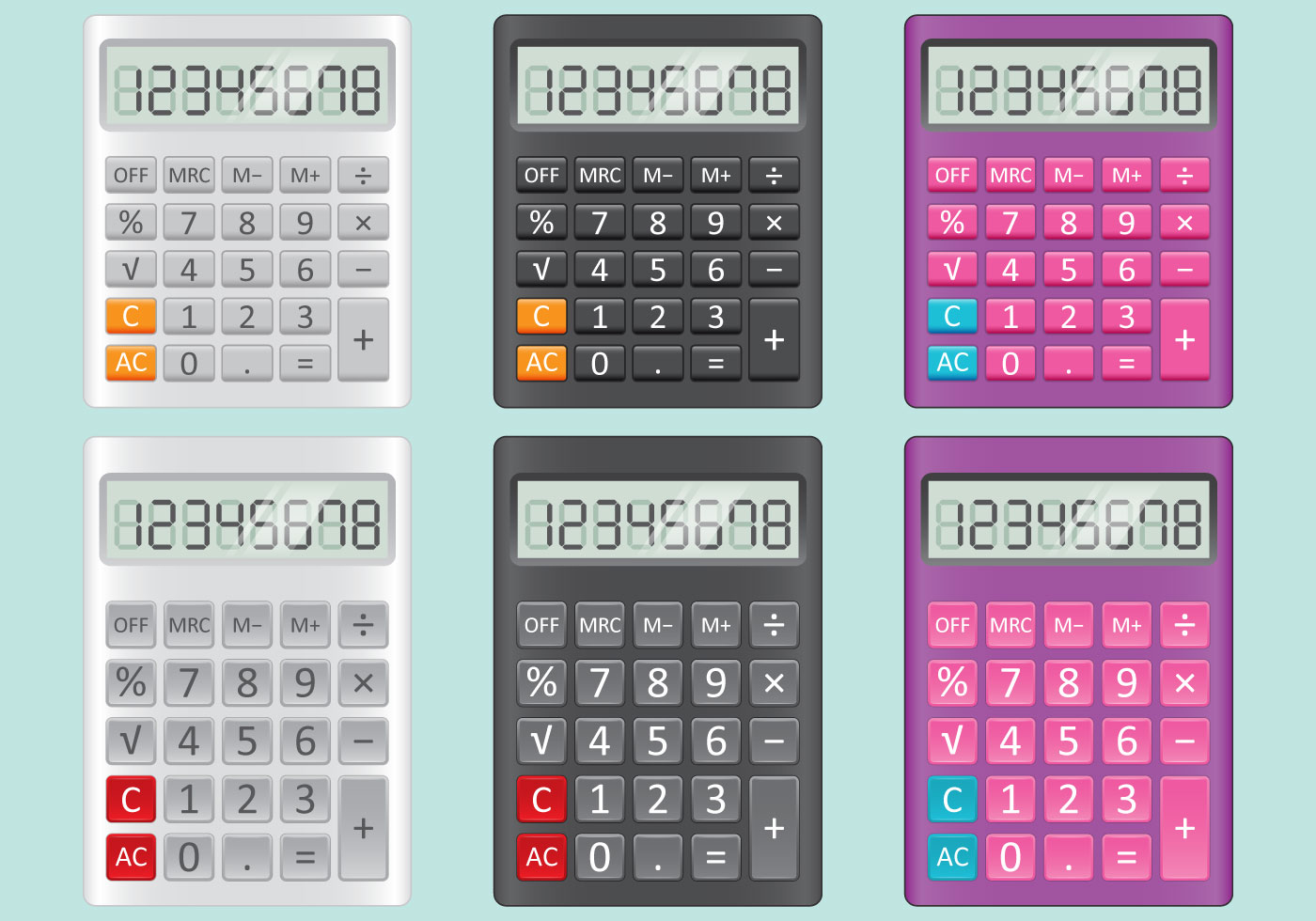calculator vectors download free vector art stock graphics images