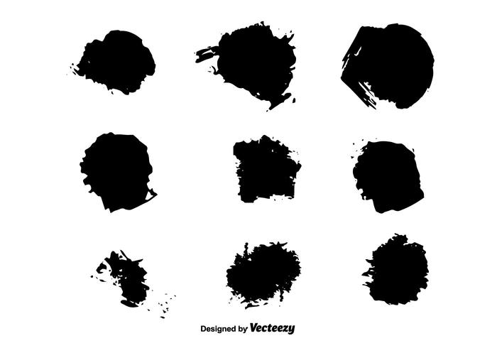 Brush Stroke Vectors