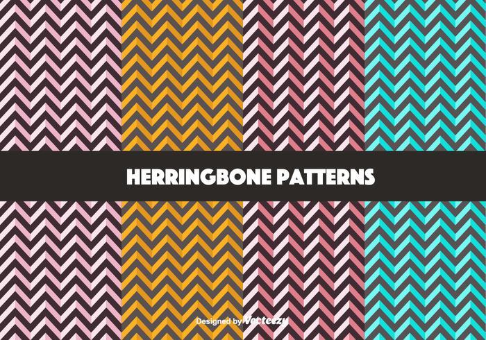 Free Bold Herringbone Pattern Vektoren