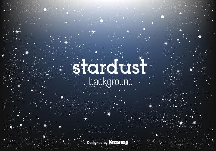 Shining Stardust Vector Background