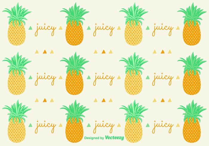 Ananas Pineapple Pattern Background