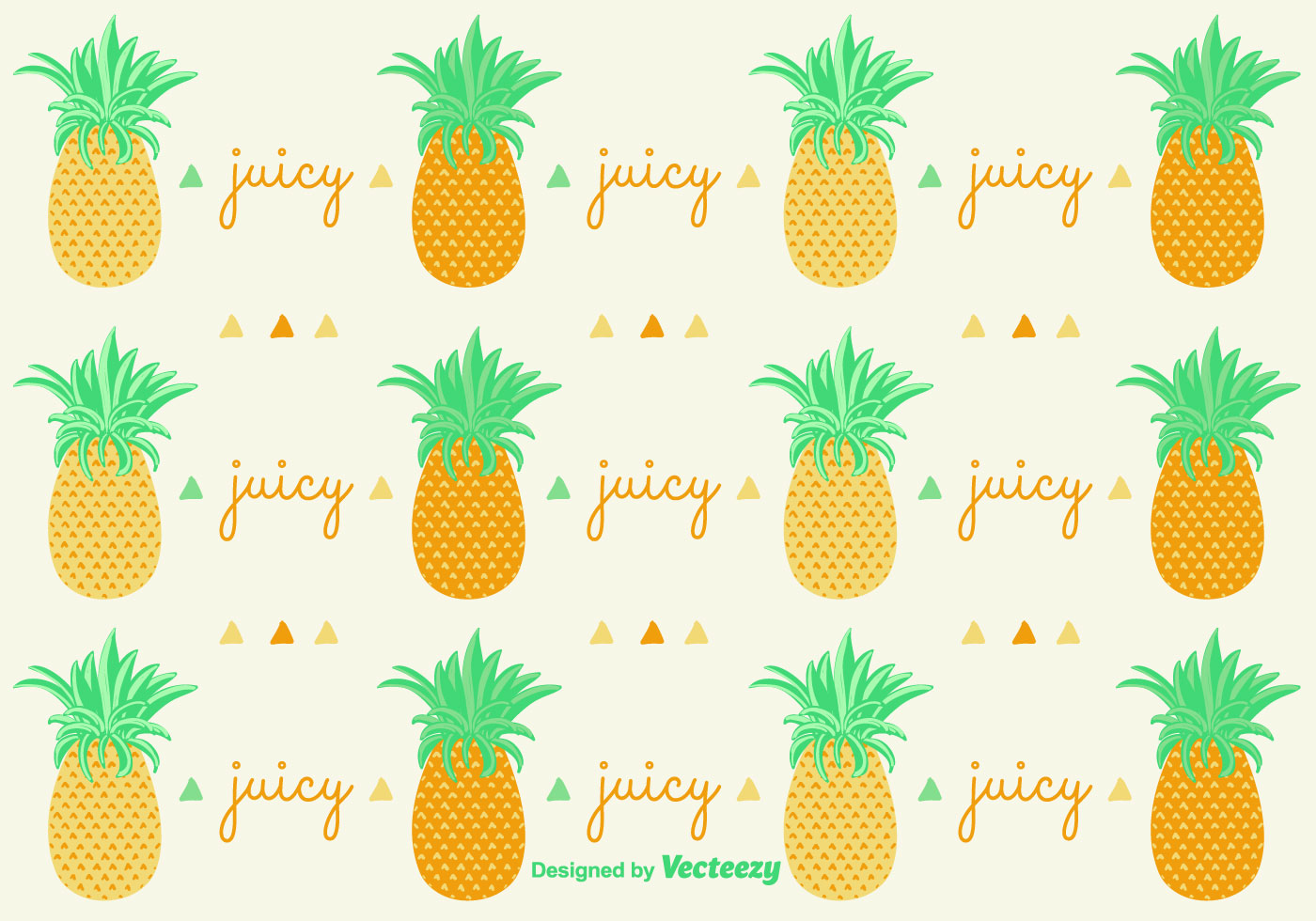 Ananas Pineapple Pattern Background - Download Free Vector Art, Stock ...
