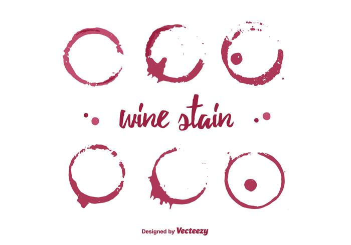 Wine Stain Vector