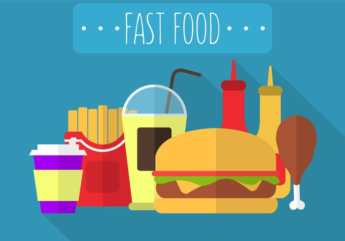 Fast Food in Vector
