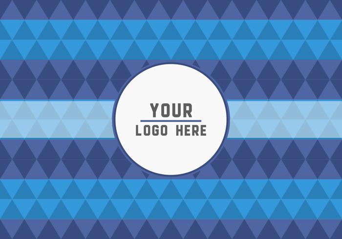 Free Geometric Logo Background