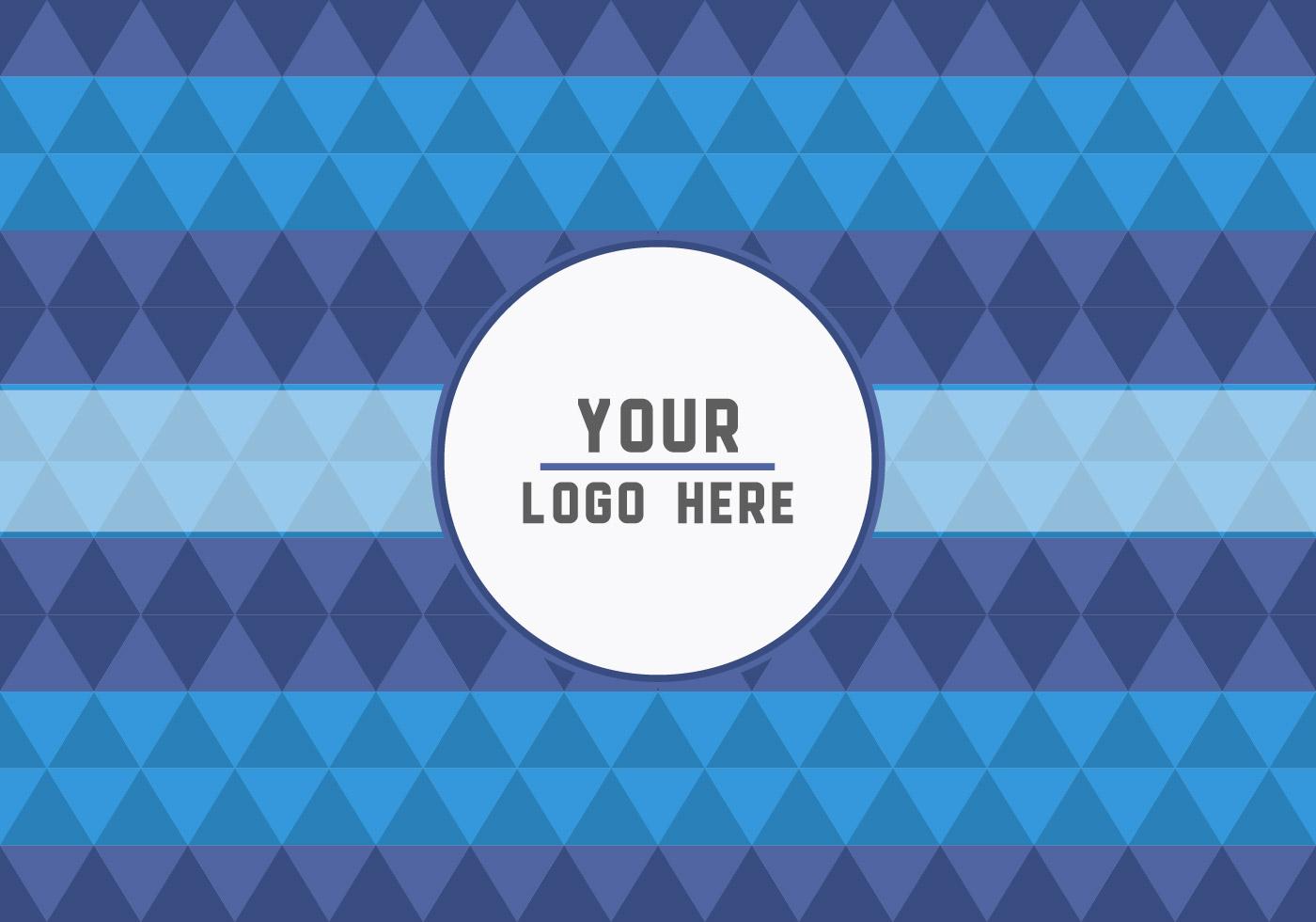 Free Geometric Logo Background Download Free Vectors
