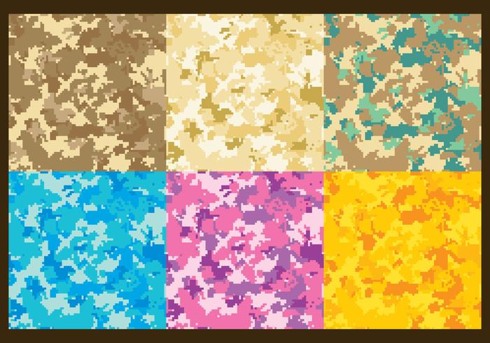 Pixel Multicam Vector Patterns