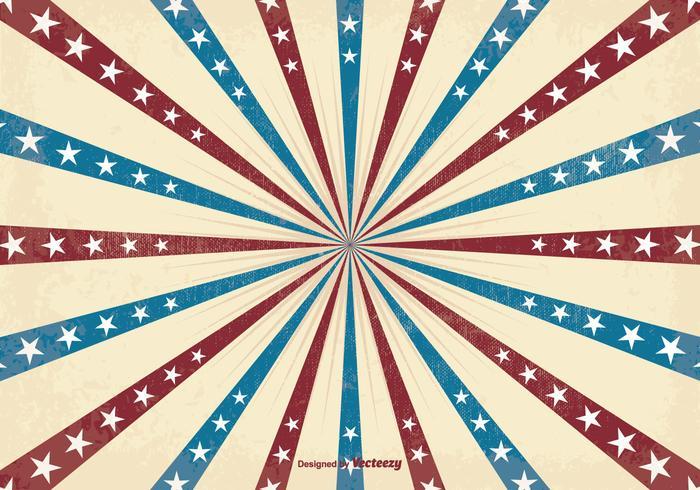 Arrière-plan patriotique du fond du soleil