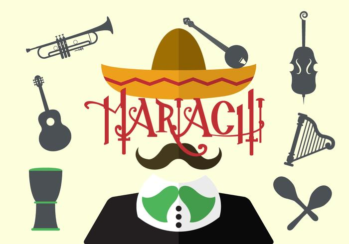 Vector Illustration of Mariachi
