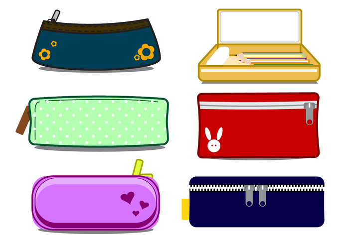 Free Pencil Case Vector Download Free Vector Art Stock Graphics Amp Images