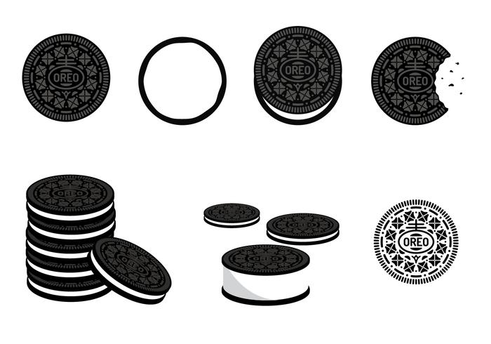 free oreo vector download free vector art  stock Vector Filigree Pattern SVG Filigree