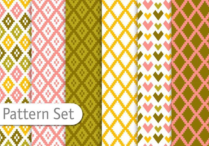 Colorful Aztec Patterns