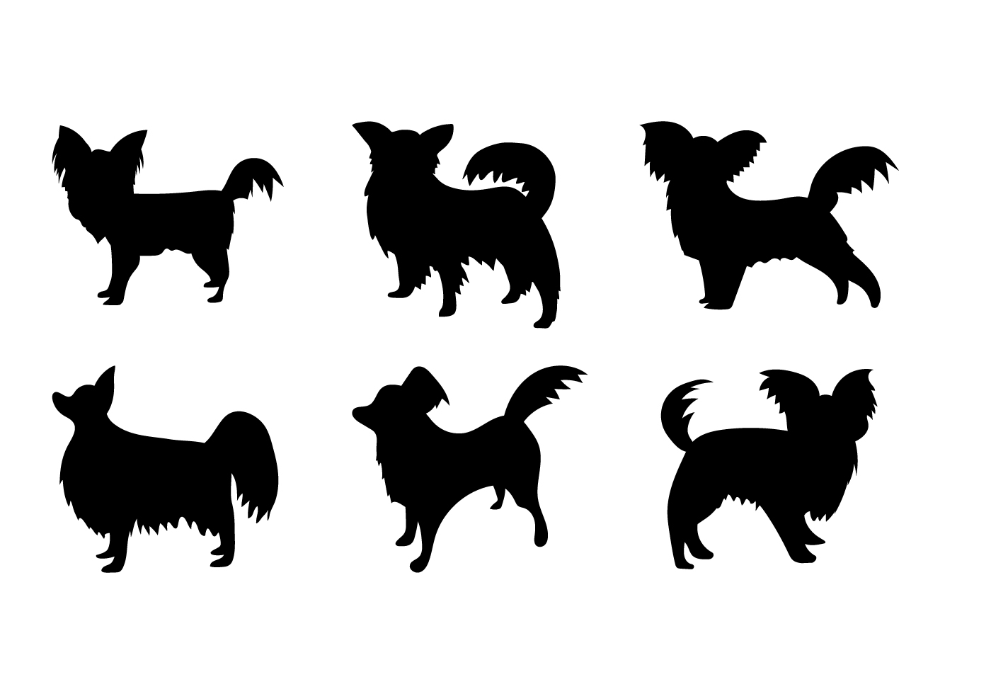 LABRADOODLE DOG ART PRINT POSTER Breed Black Silhouette Vintage Outline Picture