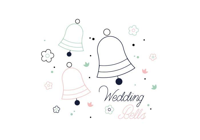 Free Wedding Bells Vector