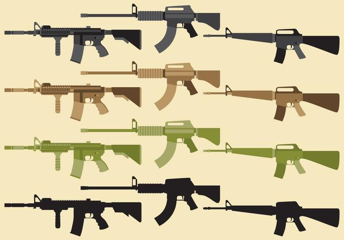 Military Weapon Vectors