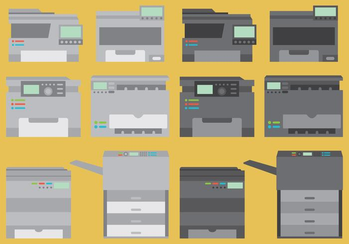 Photocopier Vectors