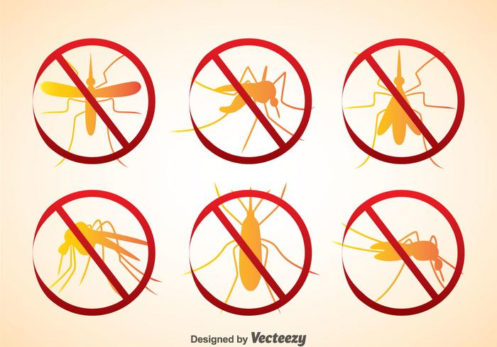 Icônes de parasites vecteur