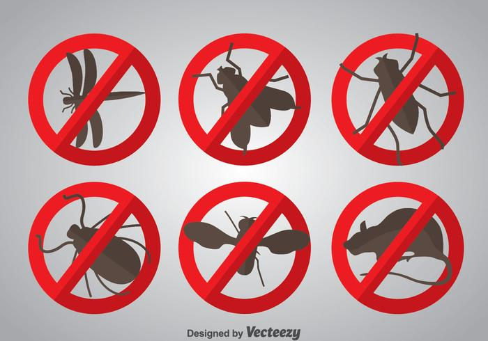 Pest Icons Vector