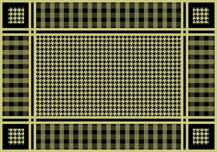 Free Keffiyeh Checkered Vector