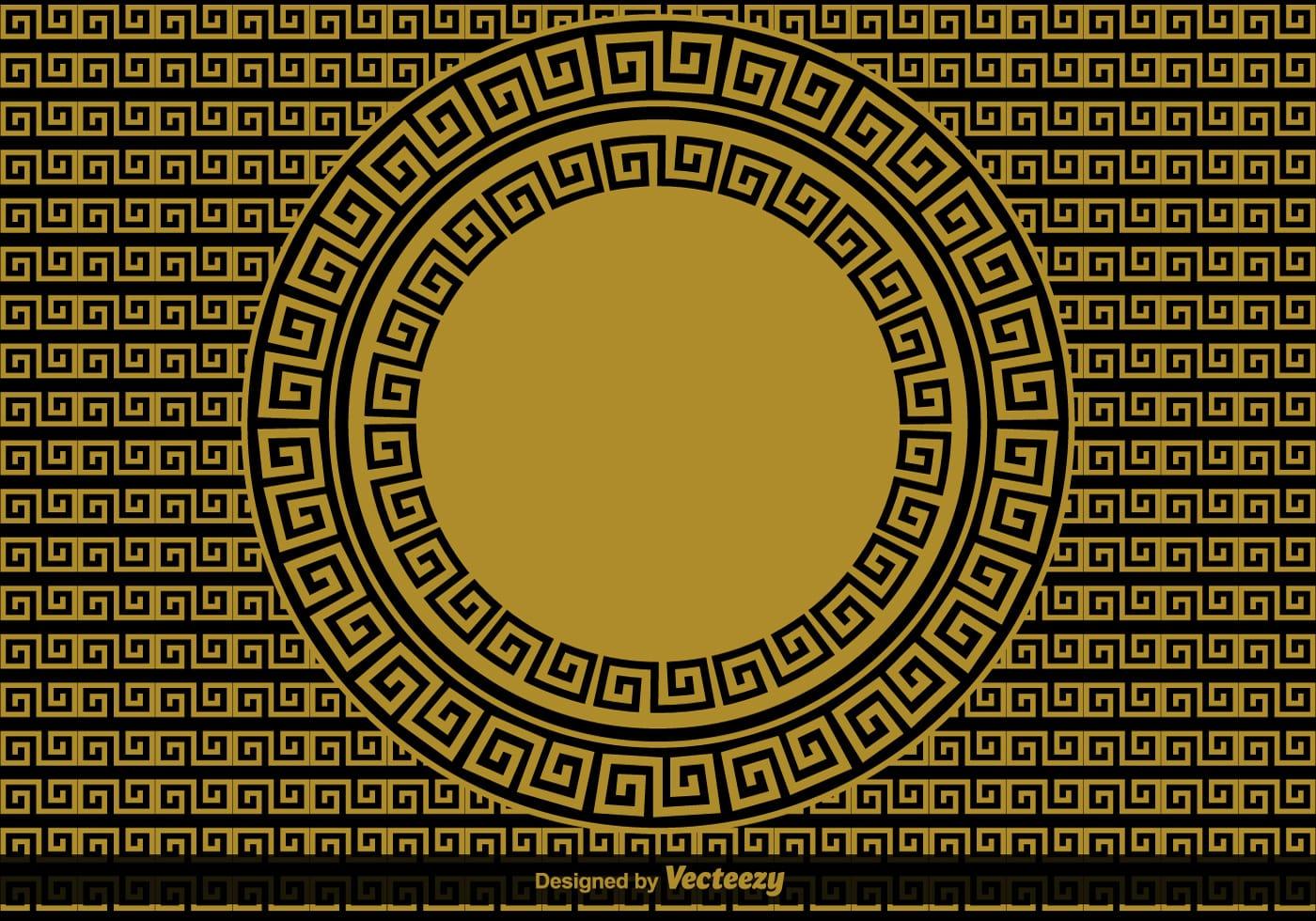 greek key vector background download free vector art
