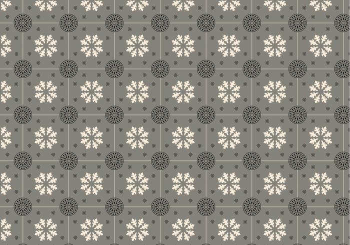 Grey Mosaic Pattern Vector