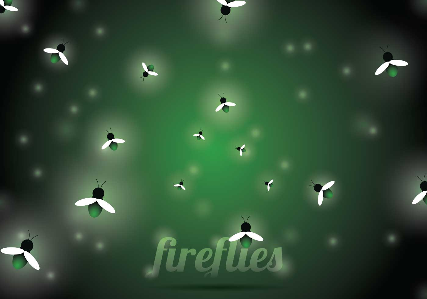 firefly vector background download free vector art
