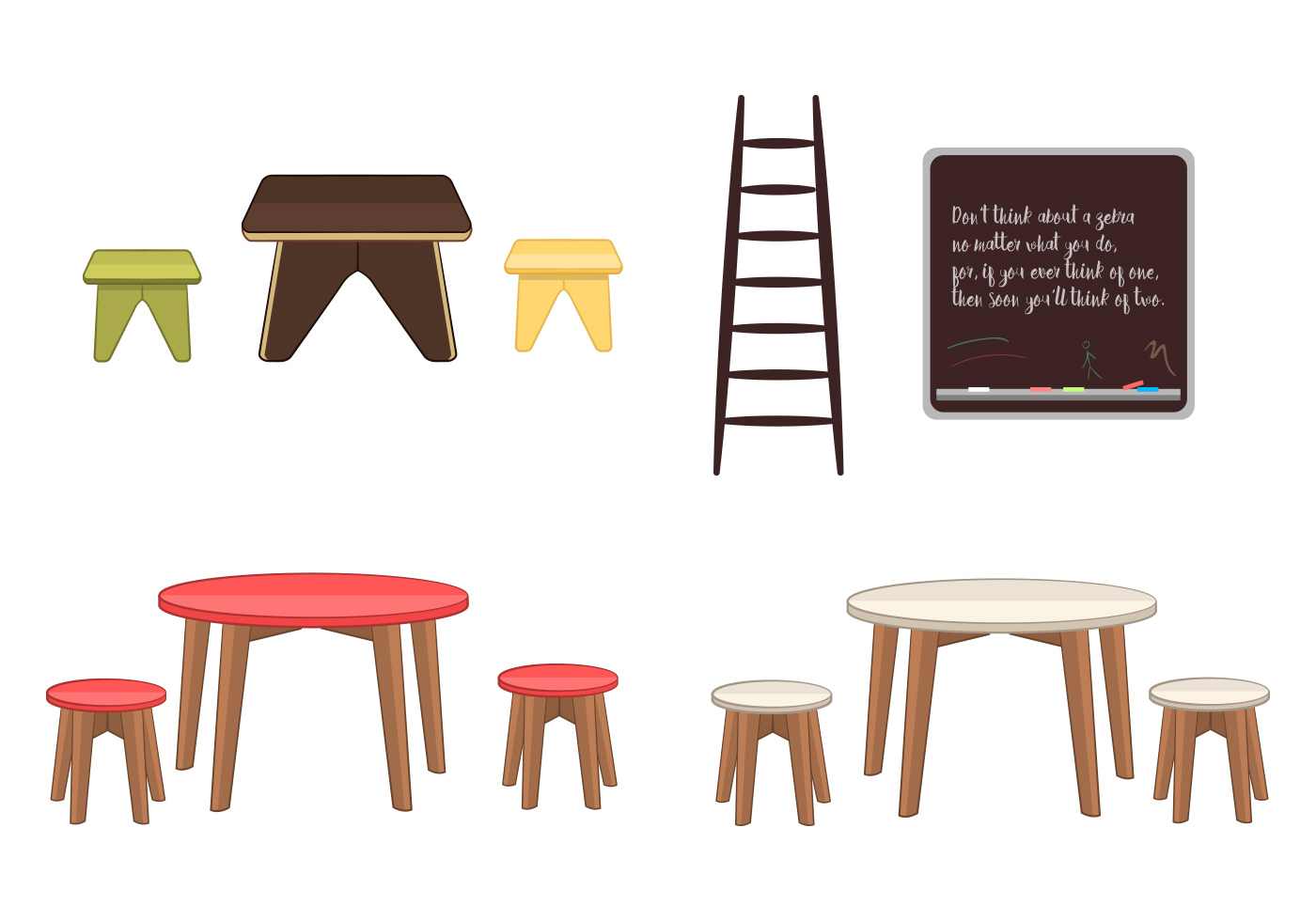 Kids Furniture Download Free Vector Art Stock Graphics