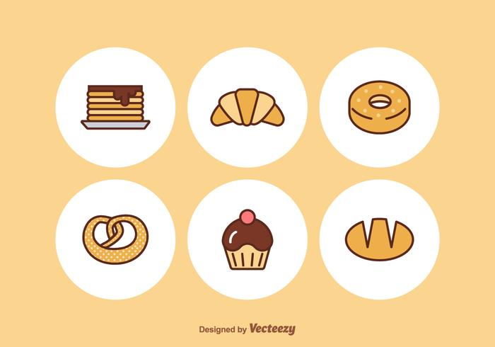 Free Bakery Vector Icons