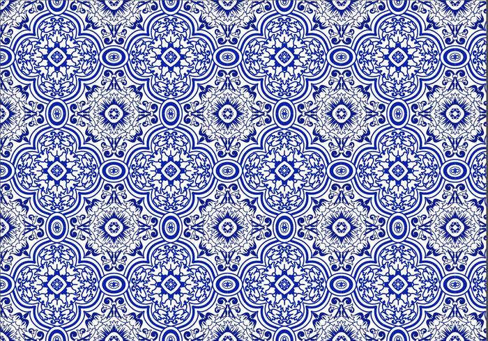 Free Azulejo Background Vector