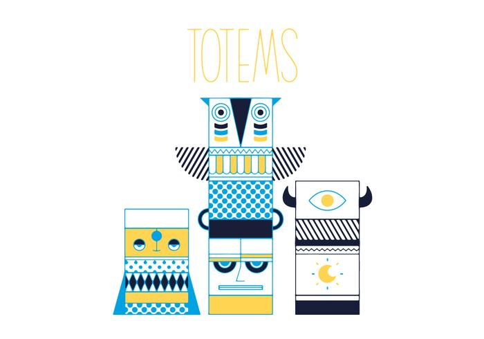 Free Totems Vector