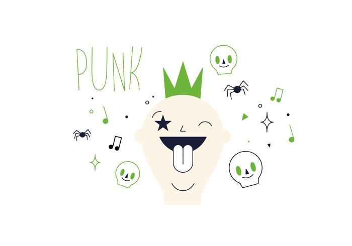 Free Punk Vector
