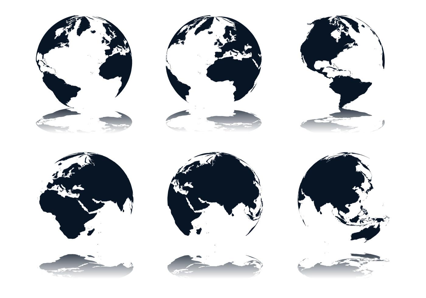 Globe Icon Vectors - Download Free Vectors, Clipart ...