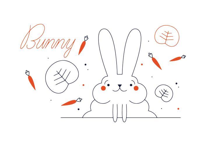 Vector conejo libre
