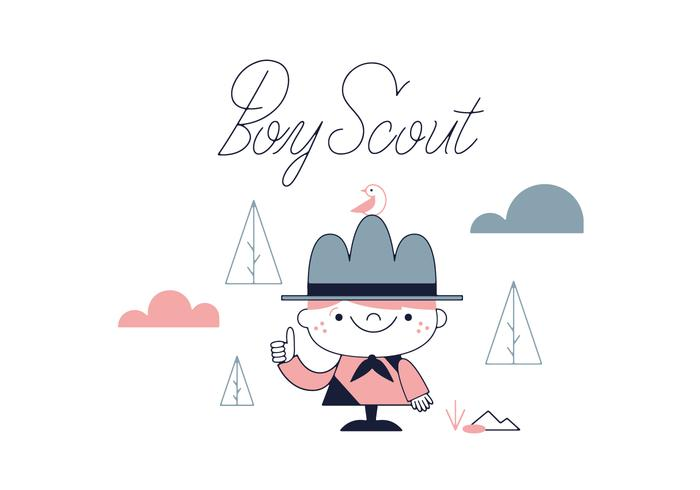 Free Boy Scout Vector