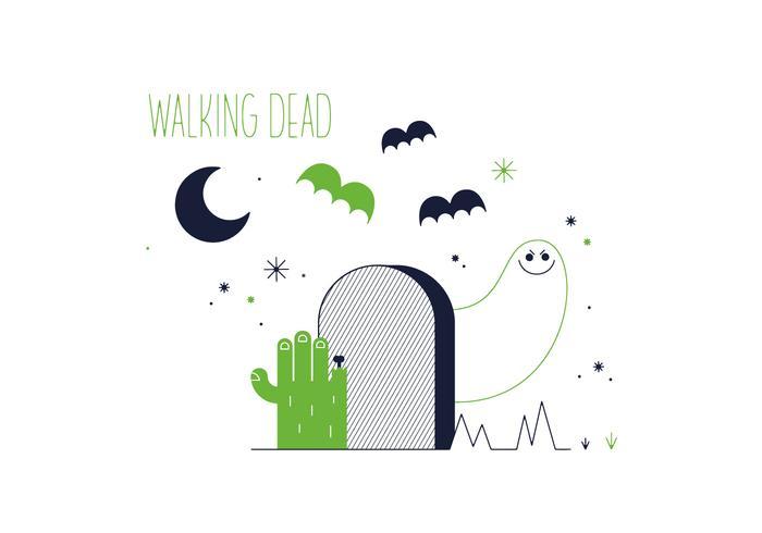 Walking Dead Vector